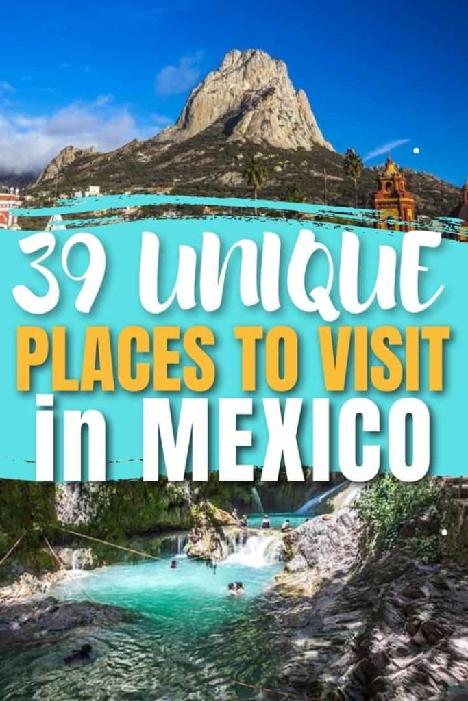 AMAZING PLACES TO VISIT IN MEXICO