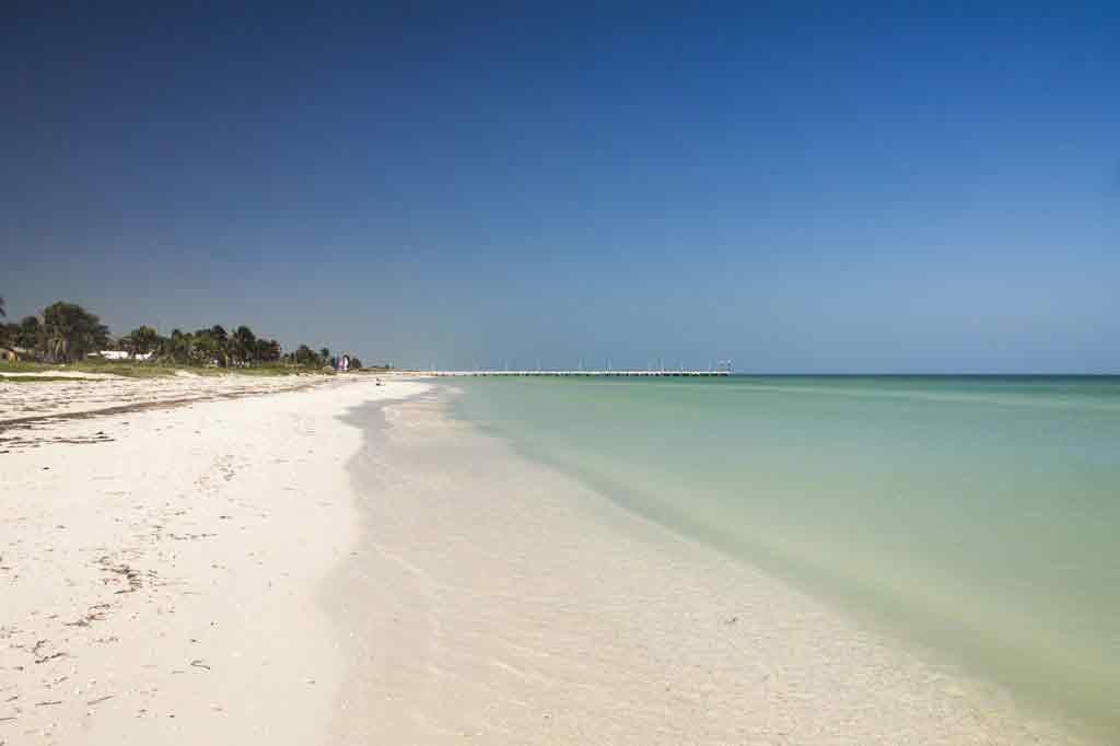El cuyo yucatan beach Mexico