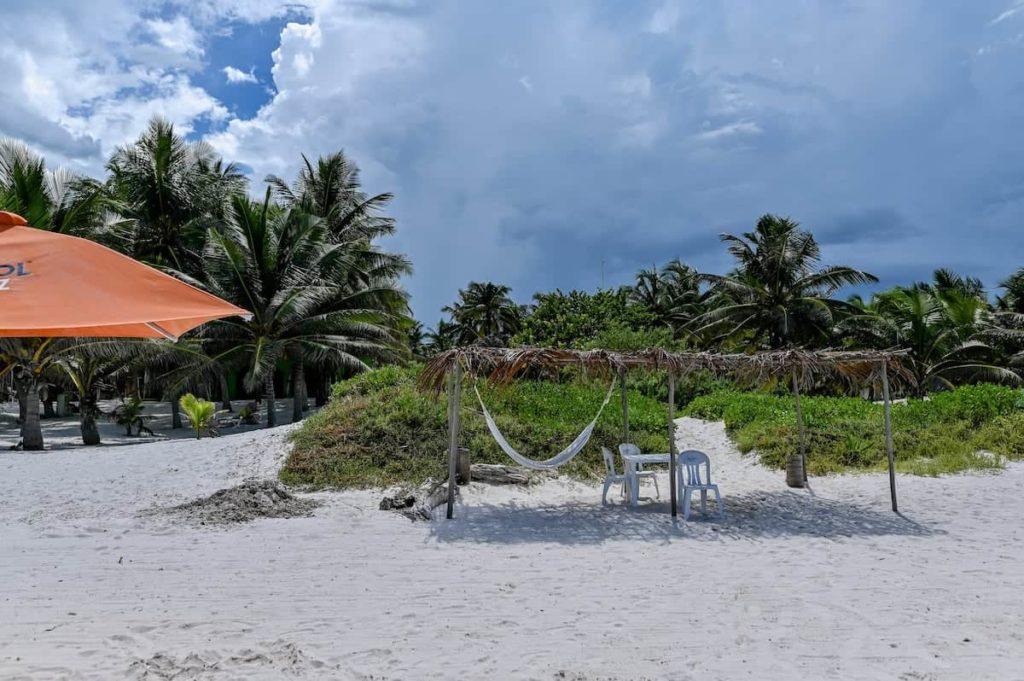 El cuyo beach cabaña beach