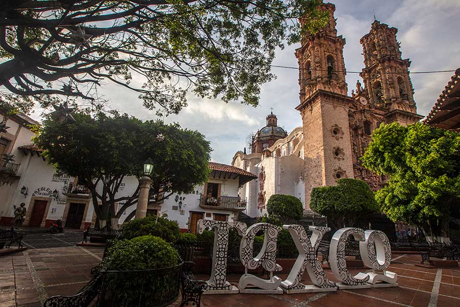Taxco Zocalo