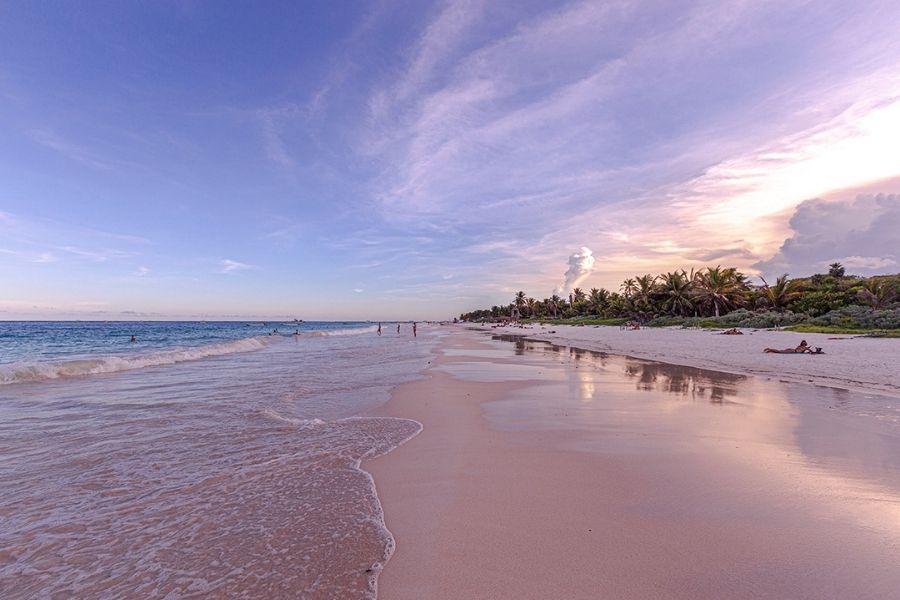 Tulum beach 1