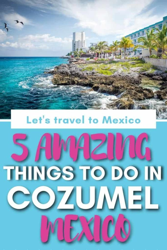 amazing things to do in COzumel Mexico
