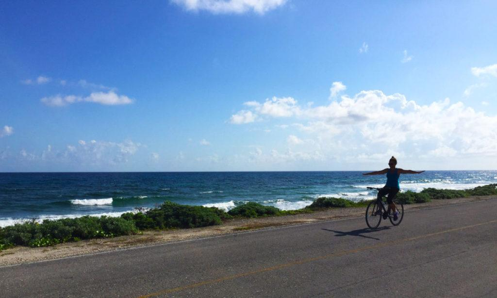 biking in cozumel