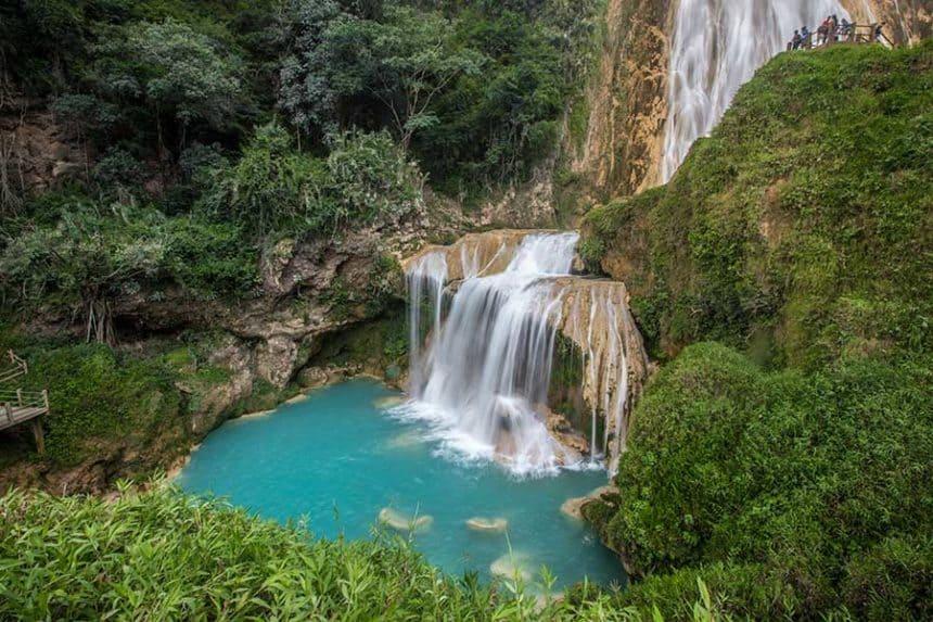 chiflon waterfall chiapas