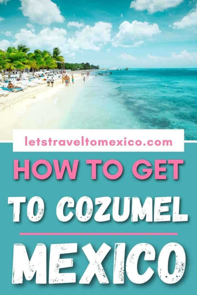 from playa to cozumel