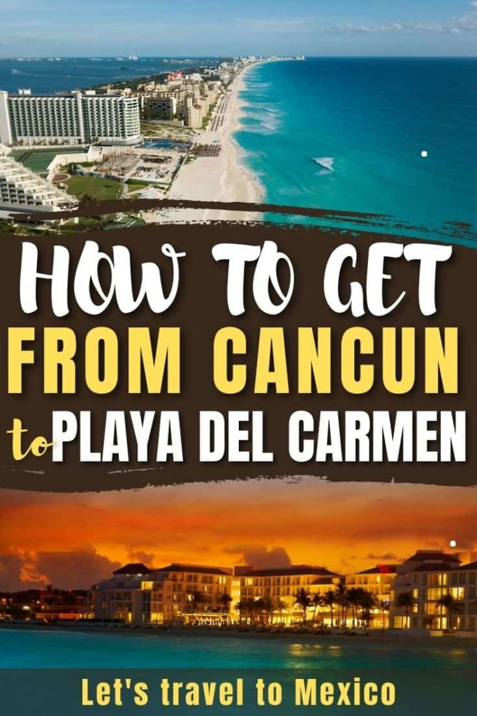 how to get from cancun to playa del carmen 1