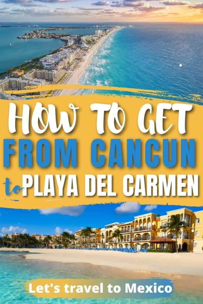 how to get from cancun to playa del carmen 2