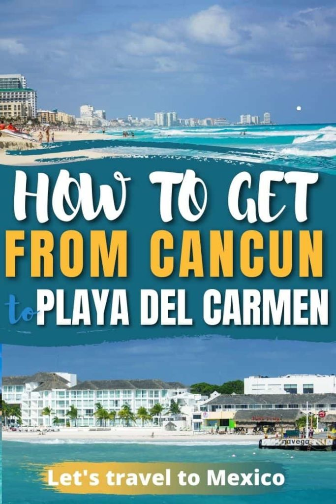 how to get from cancun to playa del carmen 3