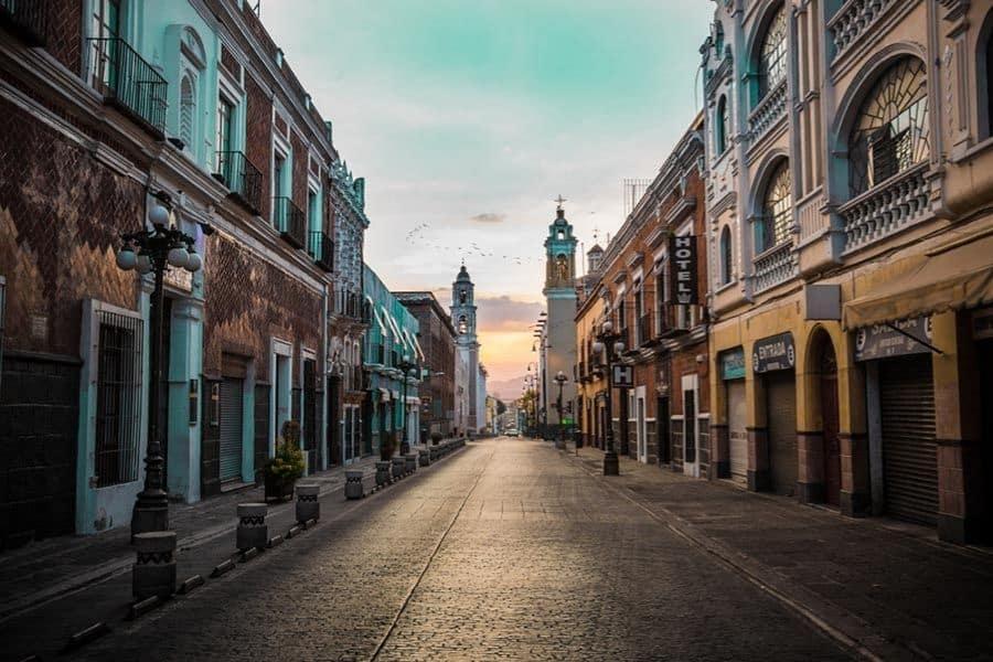 Puebla city