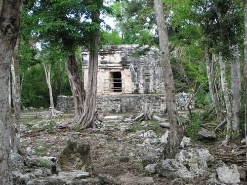 san gervasio cozumel mayan