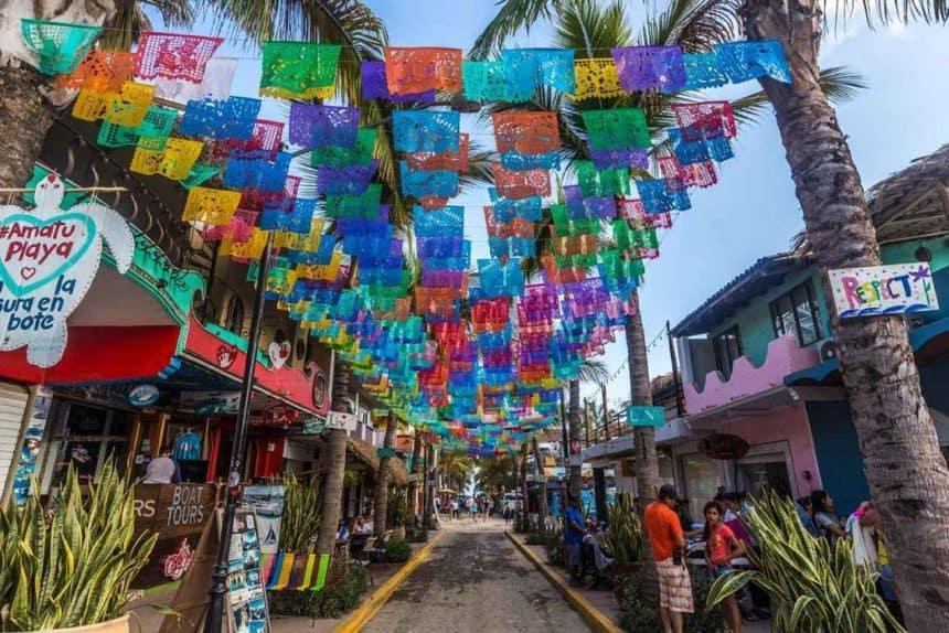 Sayulita main street