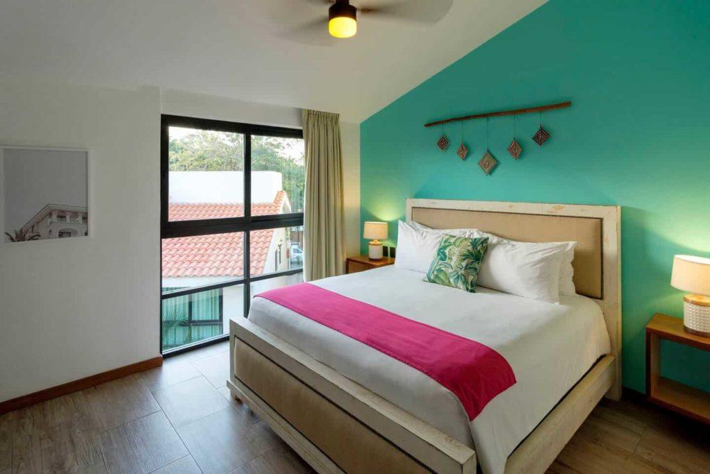 stylish apartment Marina bedroom