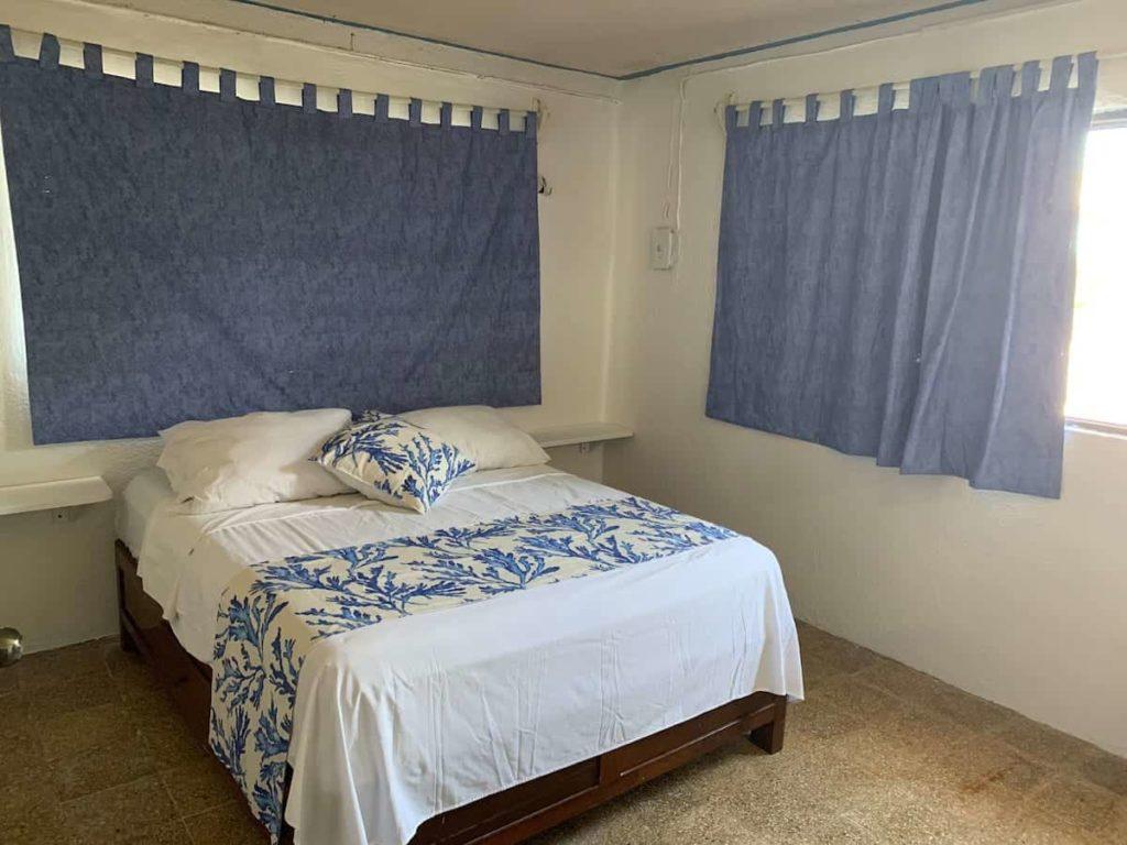 tiny house el cuyo bedroom