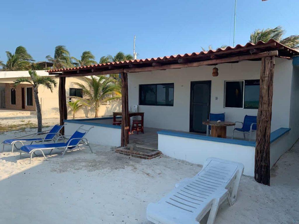 tiny house on the beach