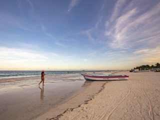 TULUM BEACH - how to get from Cancun to Tulum