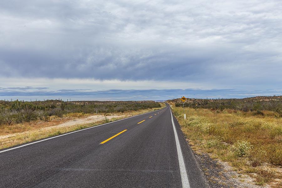 on the road baja california sur