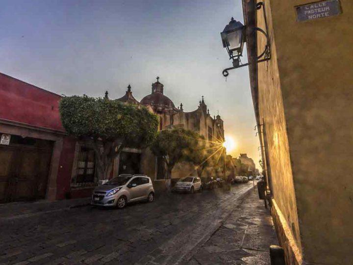 Queretaro sunset - things to do in Queretaro