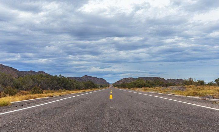 road in baja california