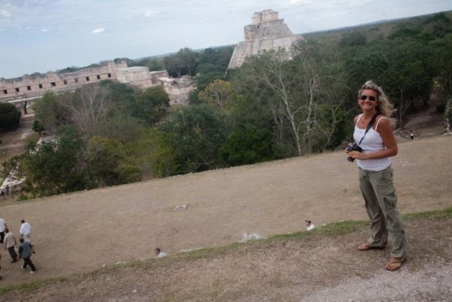MY PICTURE IN UXMAL
