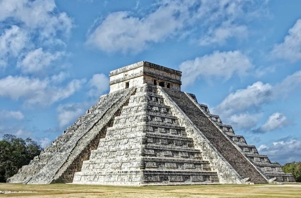 mexico, chichén itzá, pyramid