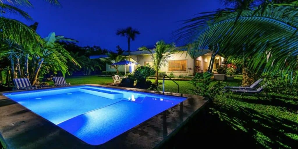 Airbnb cozumel villa with pool
