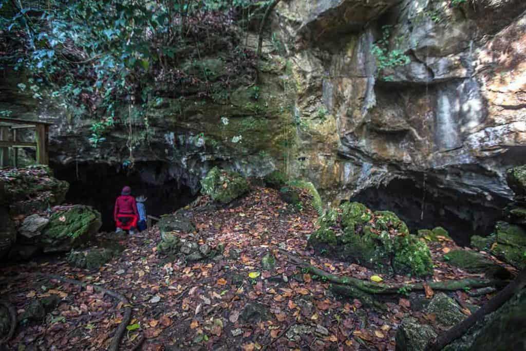 Caves of Mantezulel cave entrance