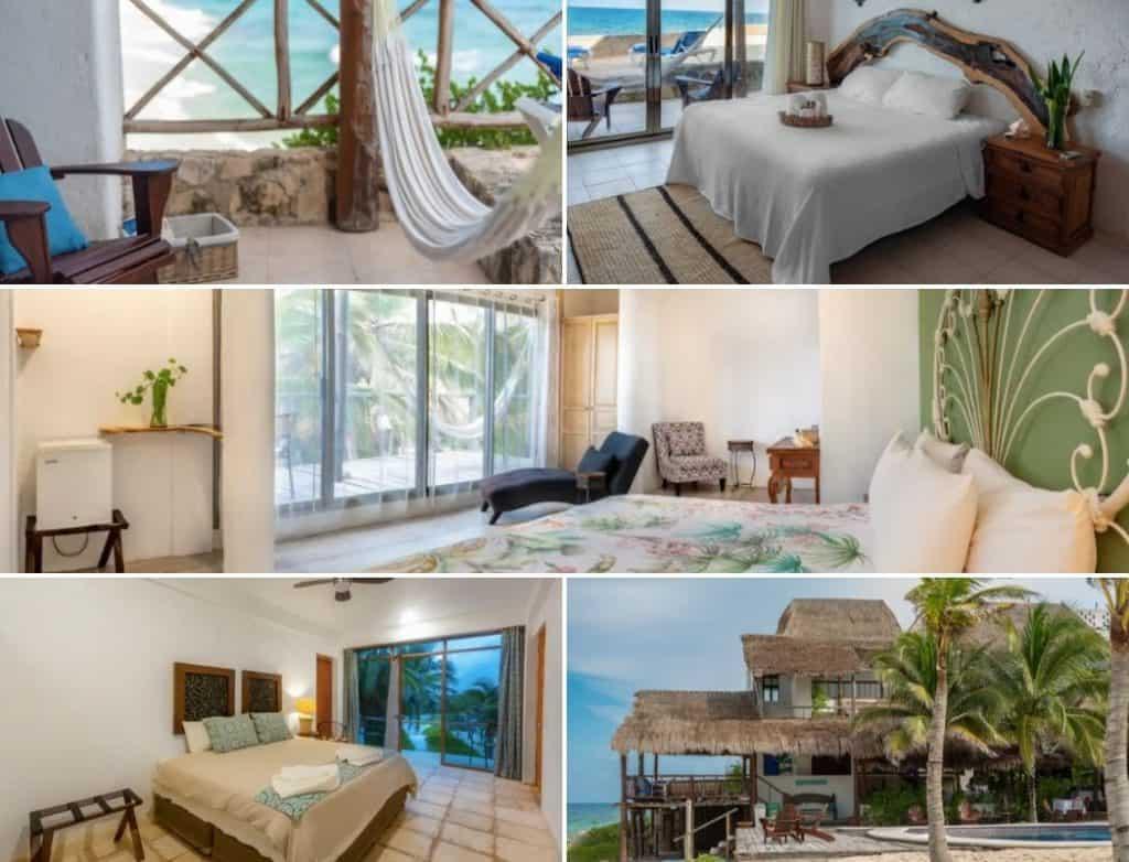 Cozume airbnb hotel ventanas al mar