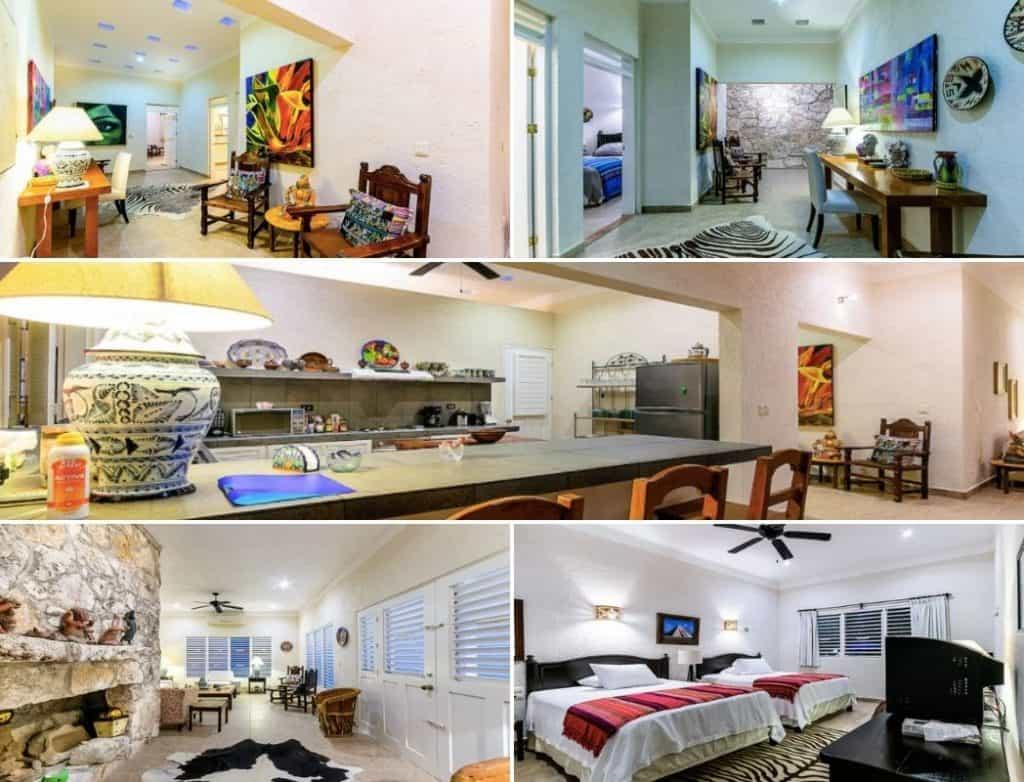 Cozumel airbnb villa images
