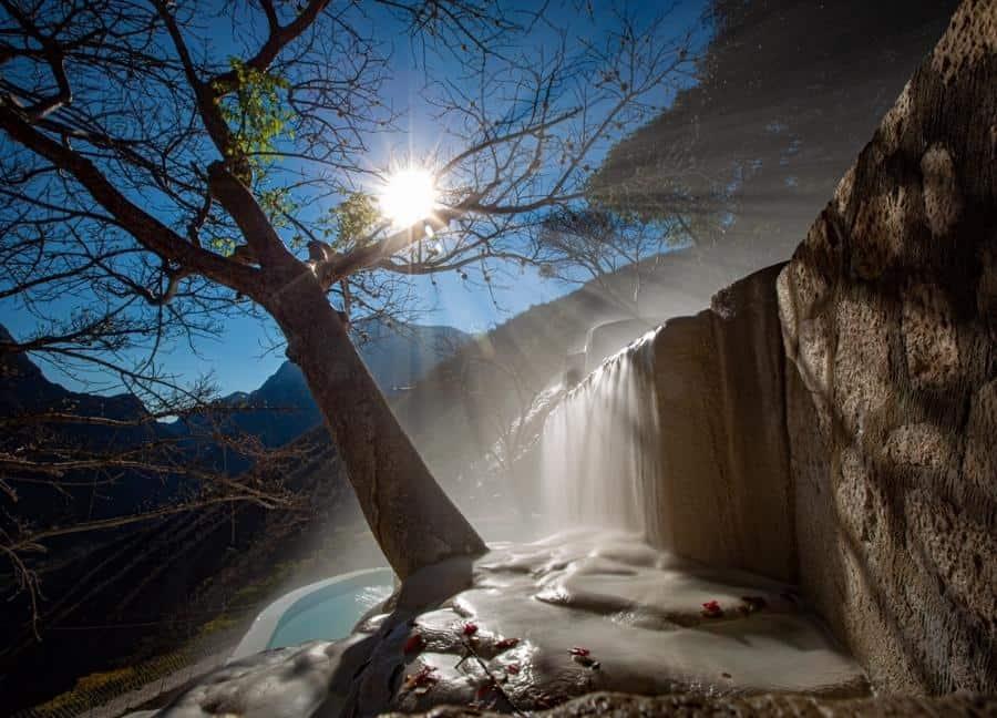 Las grutas de Tolantongo