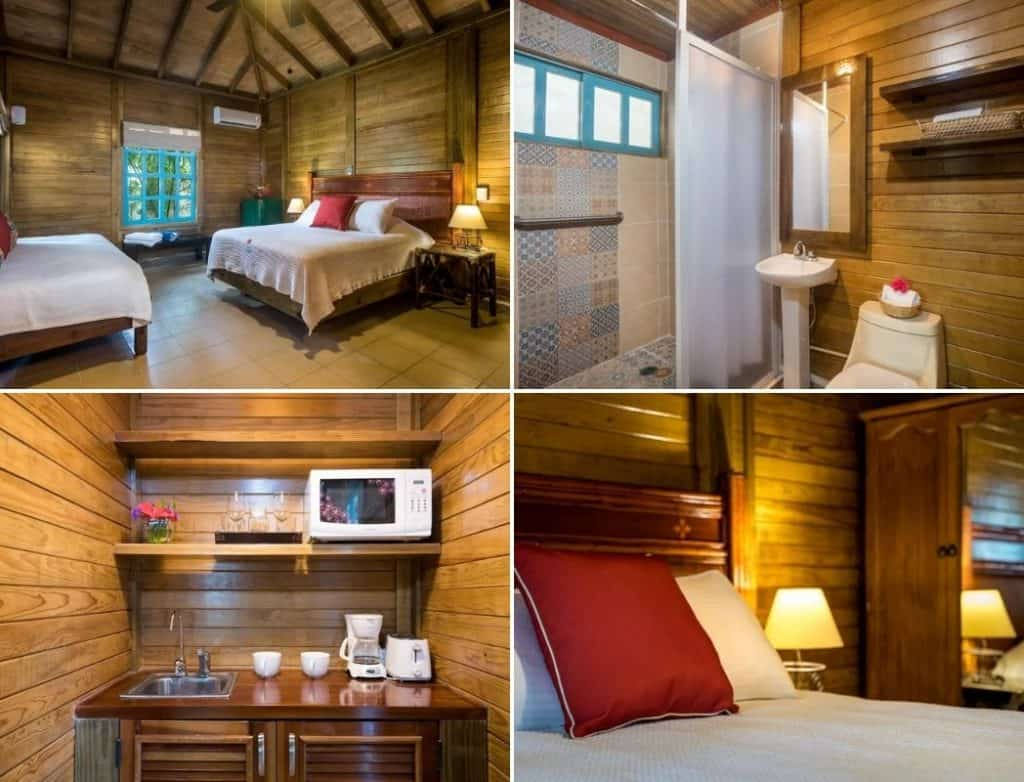 Wood cabin airbnb cozumel