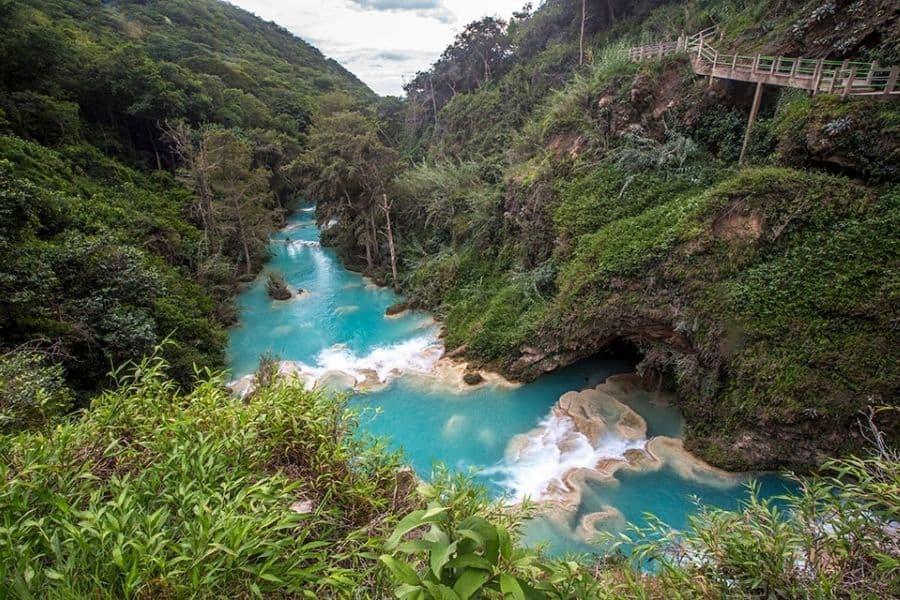 EL Chiflon Waterfall Chiapas