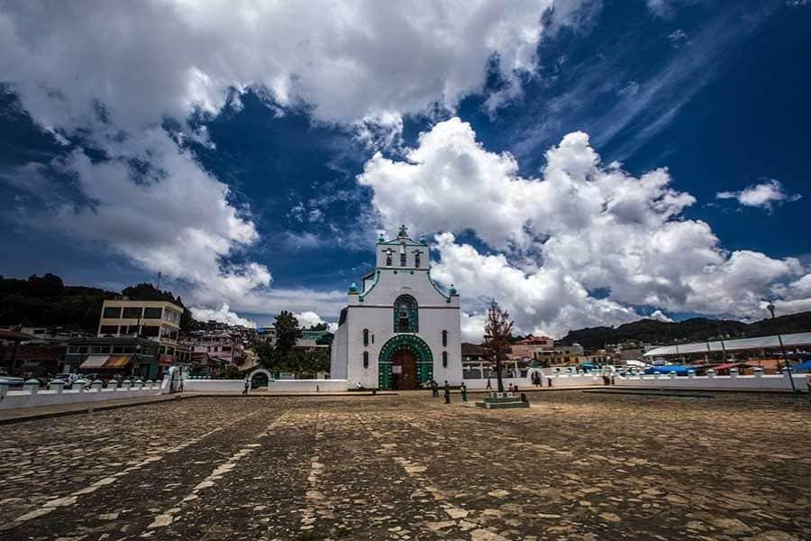 san juan chamula church and plaza