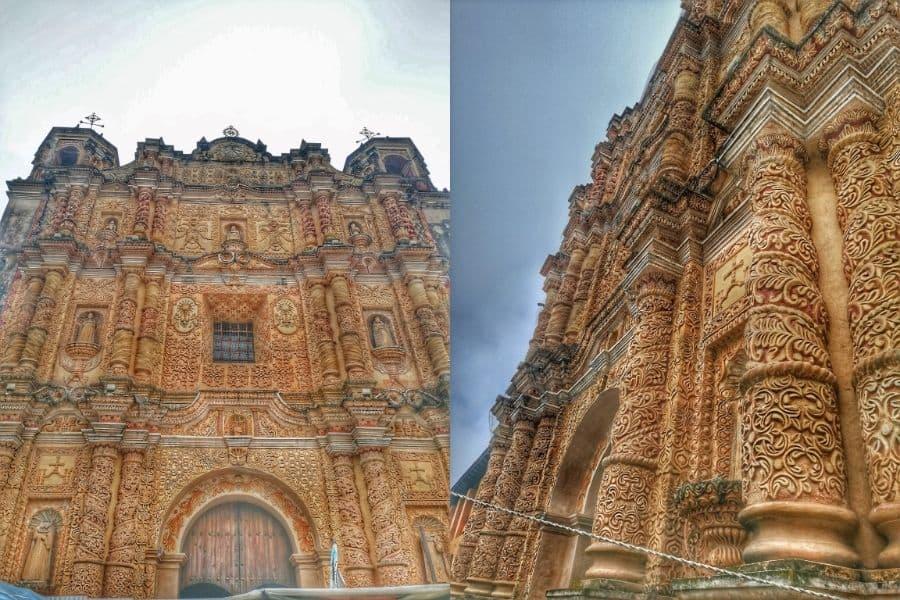 Church facade baroque style
