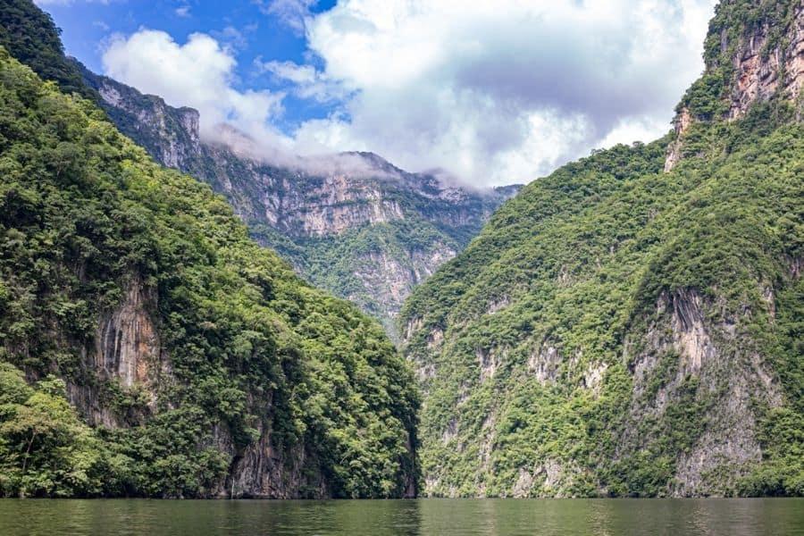 Sumidero river overview
