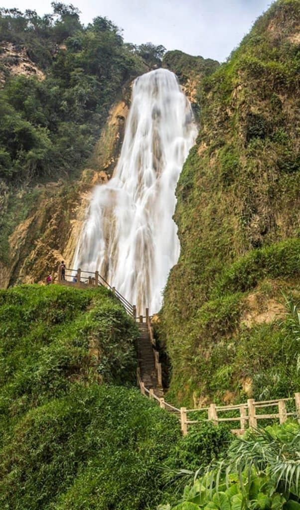 el chiflon waterfall velo de novia