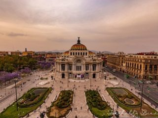 Bellas Artes museum front view - things to do in Mexico city