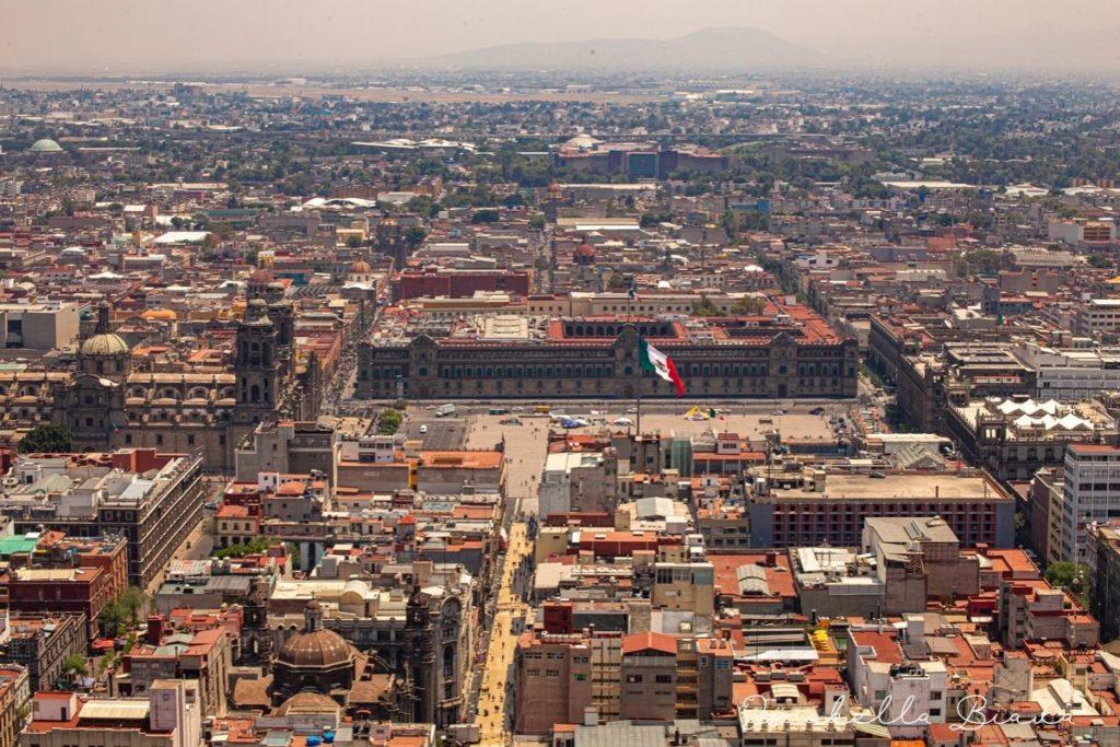 Zocalo - main square in Mexico city