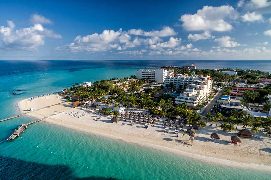 playa norte in isla mujeres overview