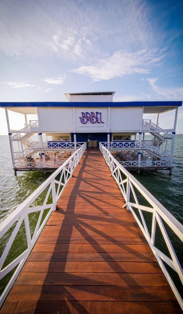 boardwalk to a restaurant in Cancun - best restaurants in Cancun