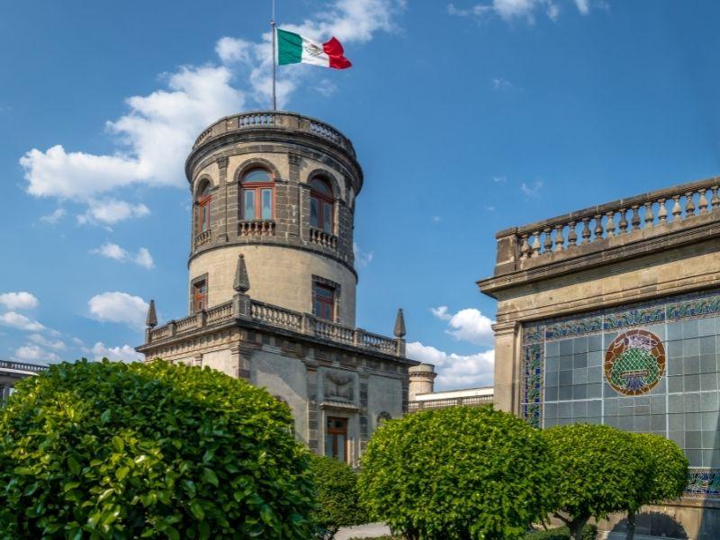 Chapultepec castle tower