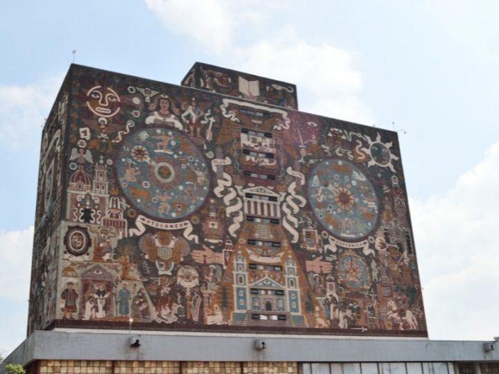 Mexico city UNAM