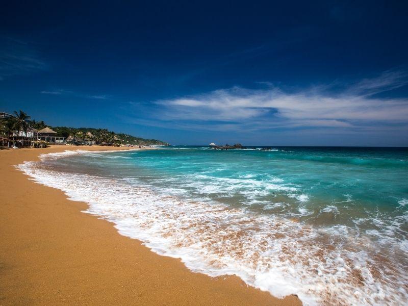 San Agustinilllo beach deserted beach with torquise water