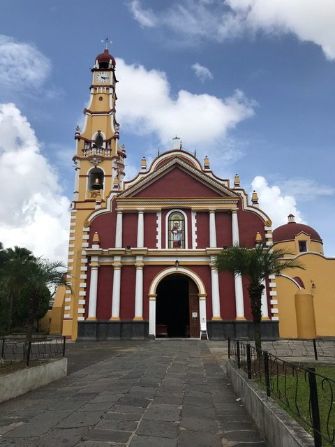 san geronimo church in coatepec