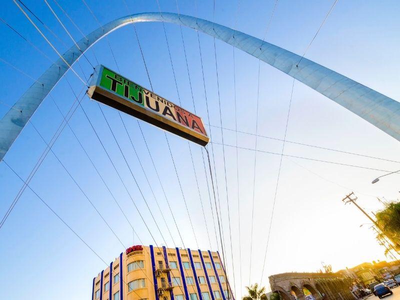 Tijuana boarder sign