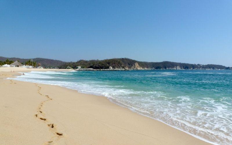 beach in Huatulco Mexico