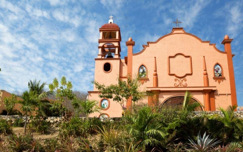church in huatulco