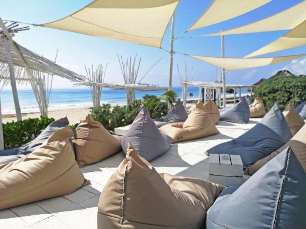 coco tulum beach chairs