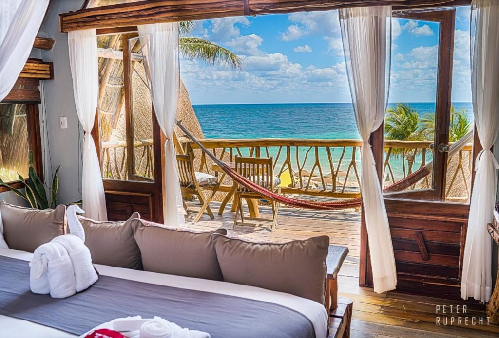 hotel ahau room with a view on the ocean