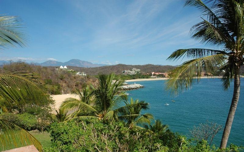 views of a bay