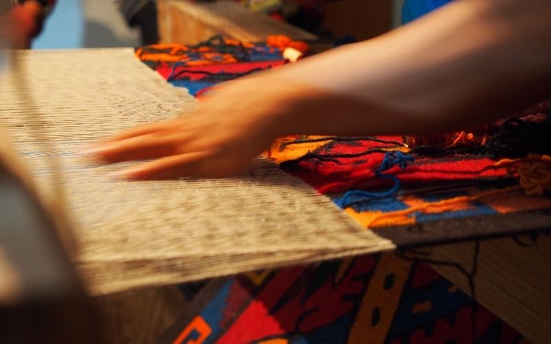 textile hand making